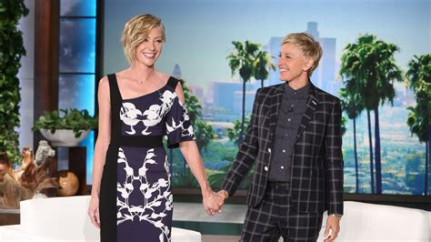portia new line ellen degeneres and portia de rossi address baby rumors