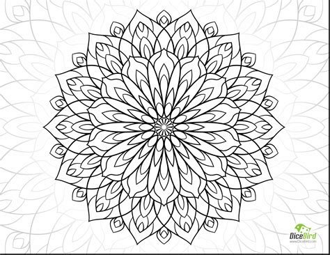 flower to color flower coloring pages for adults