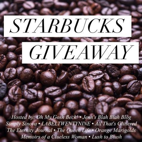 5 Starbucks Gift Card Bulk - 250 starbucks gift card giveaway ends 5 8