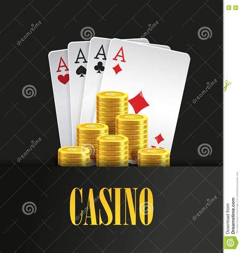 casino poker poster  banner background  flyer template stock vector illustration  cash