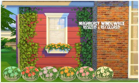 Sims 3 Planter Box by Sims 4 Ts2 Tulips Conversion And Window Box