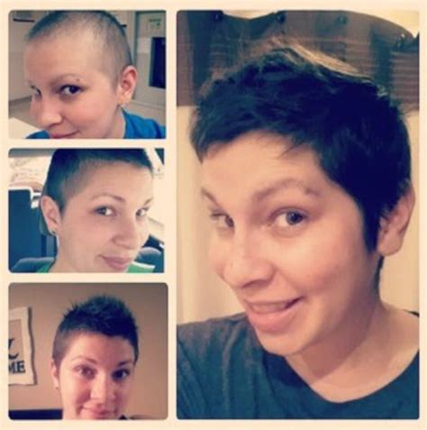 hair growth 4 months post chemo pin by lynna paine on randomness pinterest