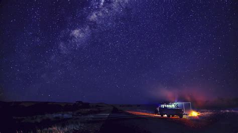 1920x1080 Camp and Starry Sky desktop PC and Mac wallpaper
