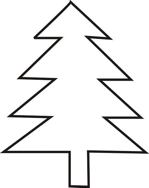 simple tree template clipart best