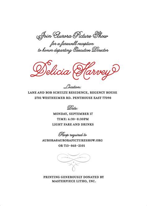 Invitation For Farewell Dinner Farewell Invitation Email Cimvitation
