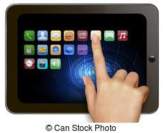 tablet stock illustrations. 147,478 tablet clip art images