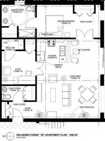 typical apartment floor plan layout