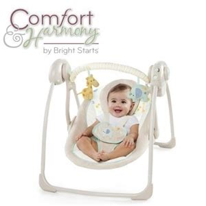 bright starts harmony swing buy comfort harmony by bright starts portable swing