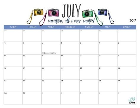 printable calendar imom 2018 july 2018 calendar printable imom journalingsage com