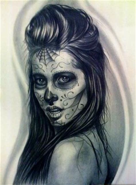 mexican face tattoos it will read the cause of death art