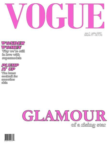 magazine cover template party time glam night