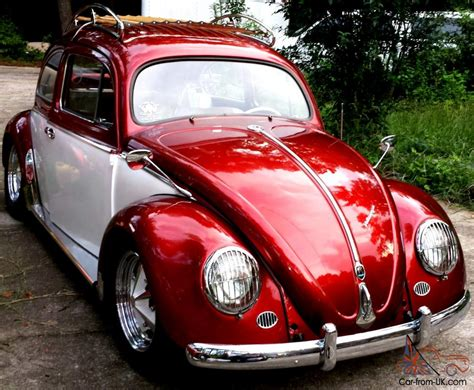 volkswagen old red this bug is a matching numbers car with clean title in