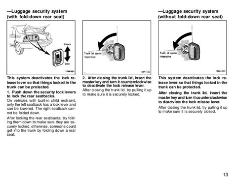 security system 2001 toyota corolla auto manual service manual how to reset security system on a 1997 oldsmobile cutlass 3 ways to reset a