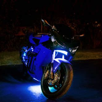 led blue lights for motorcycles motorcycle led light kits illumimoto
