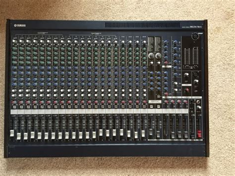 Mixer Yamaha Mg24 Xu yamaha mg2414fx mixing console for sale in rathfarnham