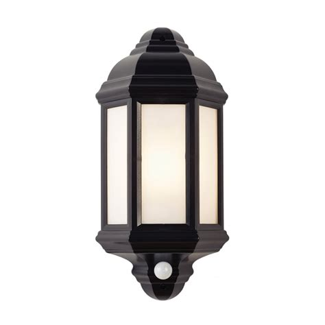 Outdoor Lighting With Pir El 40115 Halbury Pir Outdoor Wall Light Automatic