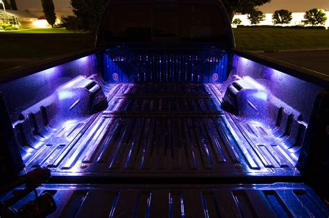 truck bed led light strip truck bed led lighting kit multi strip remote activated