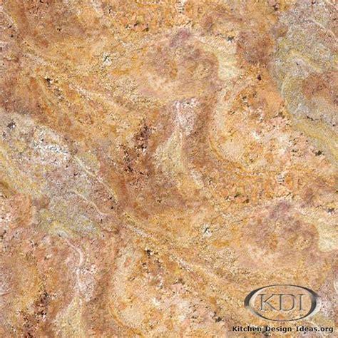 yellow granite kitchen countertop ideas