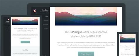 top 8 picks of free html5 templates for june 2014