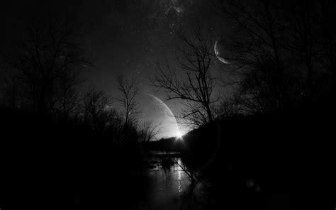 wallpaper dark moon 2948 dark forest moon background wallpaper walops com