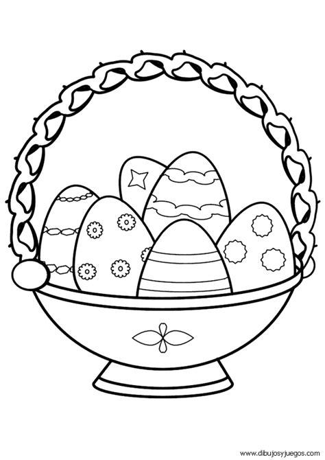 imagenes para pintar huevos de pascua dibujos de canastas con huevos de pascua para pintar