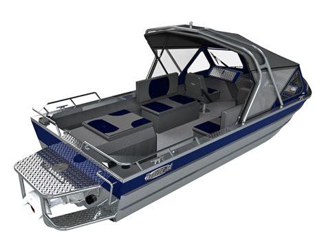 jet boat tower 20 foot welded aluminum jet fishing boats thunder jet canyon
