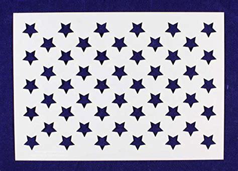 Williamsburg Paint Colors 50 star field stencil 14 mil 7 25 quot h x 10 25l quot painting