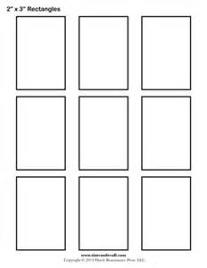 rectangle template rectangle templates blank shape templates free
