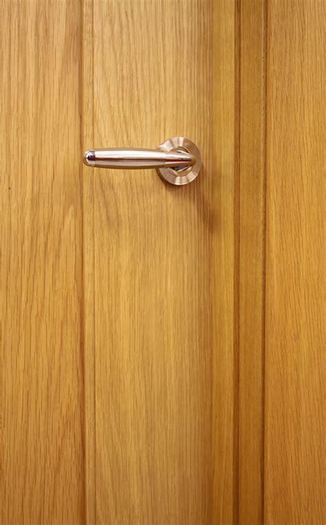 Shaker 1 Panel White Oak Door (40mm)   Internal Doors