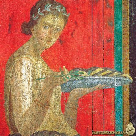 misterio en la villa fresco de la villa de los misterios de pompeya joven