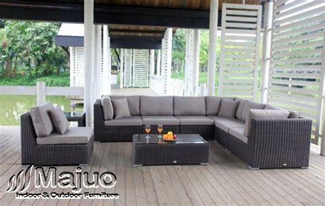 Sofa Anyaman sofa tamu rotan yang menggunakan desain yang sangat unik dan pola anyaman yang sangat artistik