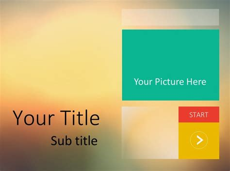 Flat Design Powerpoint Template Free Bountr Info Free Ppt Template Design