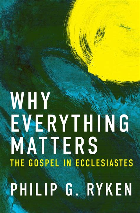 gospel and for generation now books books at a glance why everything matters the gospel in