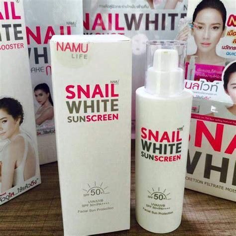 Snail White Thailand snail white sunscreen power from vegetation