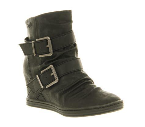 womens blowfish tugo wedge sneaker black relax boots ebay
