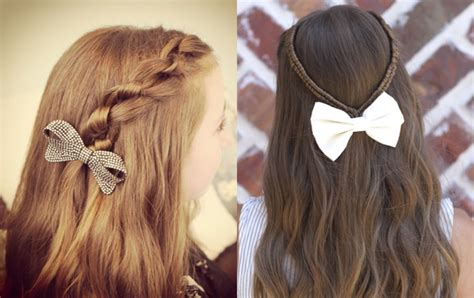 Girls Hairstyles for School