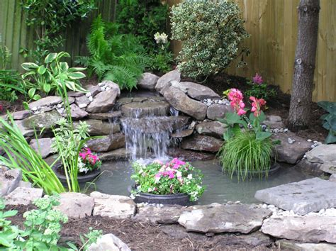 small yard ponds this pond fits perfectly into the