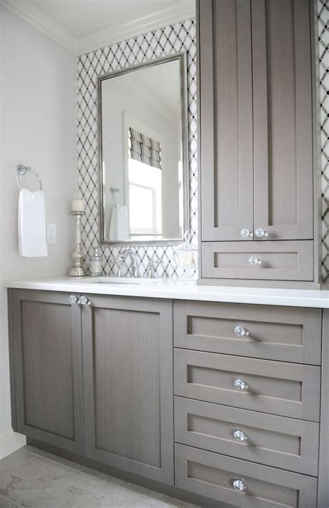Ensuite Bathroom Furniture 25 Best Ideas About Gray Vanity On Grey Bathroom Vanity Small Bathroom Cabinets