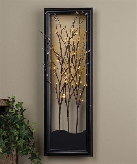 Light Wall Decor by Wall Designs Light Up Wall Clear Led Willow
