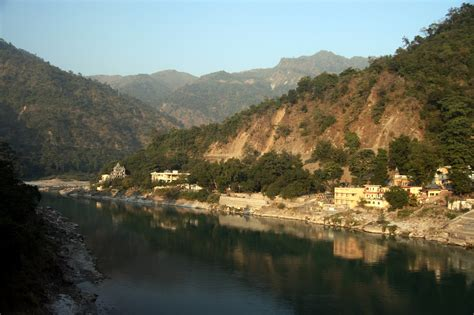 The Ganges River by File Ganges River At Rishikesh Jpg