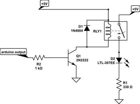 arduino transistor relay driver r 246 le nedir robotistan