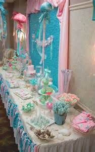 vintage mermaid baby shower party ideas photo 1 of 46 catch my party