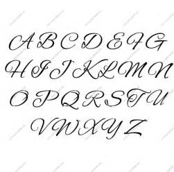 stylish cursive letter stencils numbers and custom made to