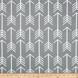 premier prints arrow cool grey discount designer fabric