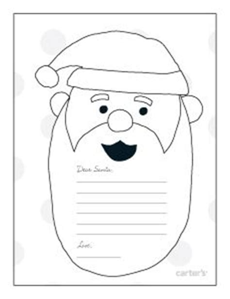 coloring pages letter to santa christmas ideas on pinterest reindeer nativity and