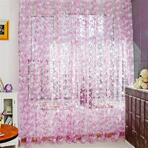 home brand curtains brand new stylish tulle pastoral home curtains window