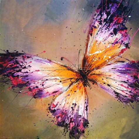 25 Best Ideas About Butterfly Painting On