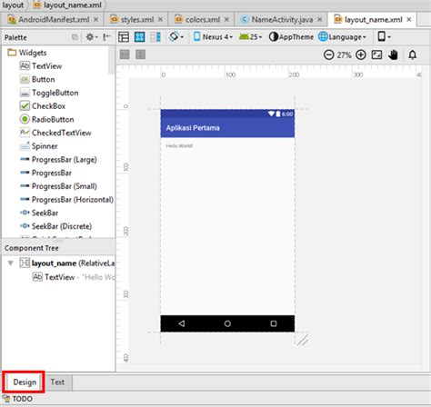 android xml layout naming convention bagian 3 membuat project dan struktur folder koding