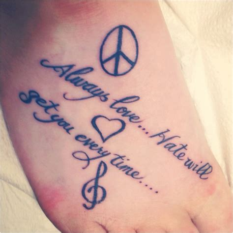 tattoo quotes peace 47 best images about tattoos on pinterest