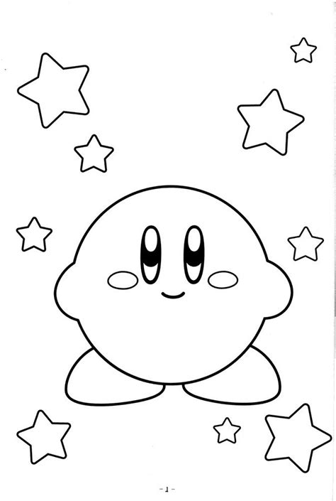 coloring pages video games cute kirby coloring pages video game coloring pages